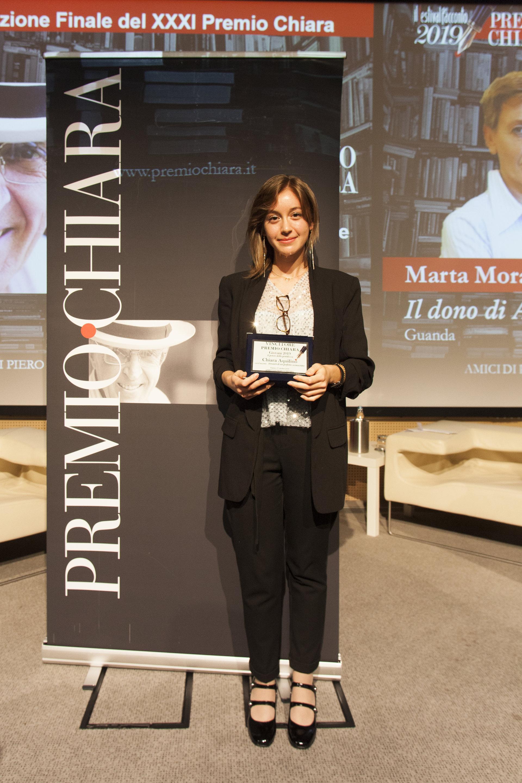 Chiara Aquilino Vincitore Premio Chiara Giovani 2019