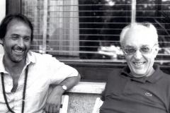 Piero Chiara con il figlio Marco
