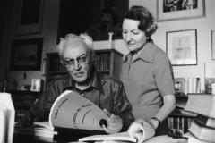 Piero Chiara e la sua seconda moglie Mimma Buzzetti