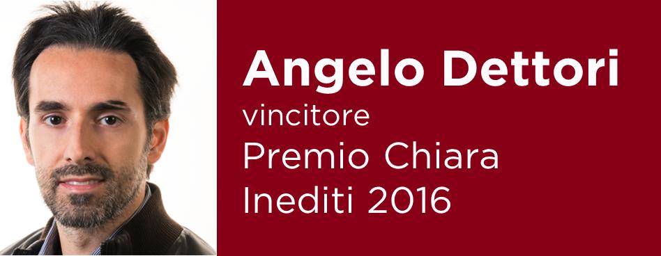 Esito Premio Chiara Inediti 2016