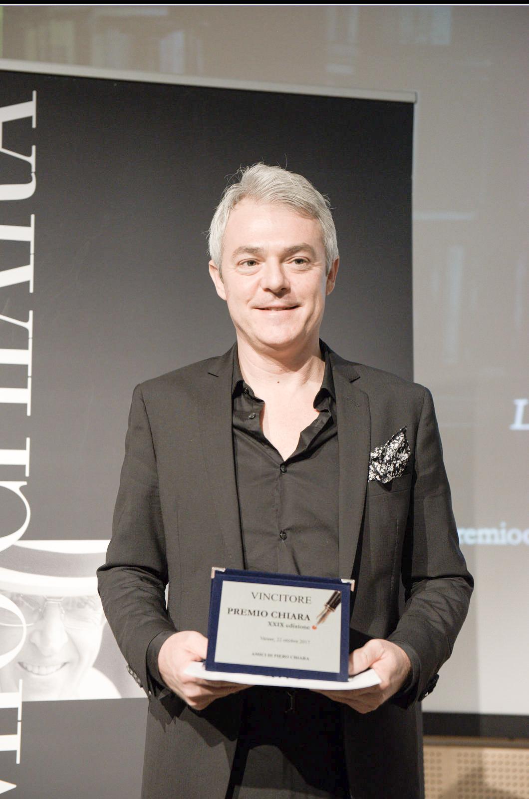 Davide Bregola Vincitore Premio Chiara 2017
