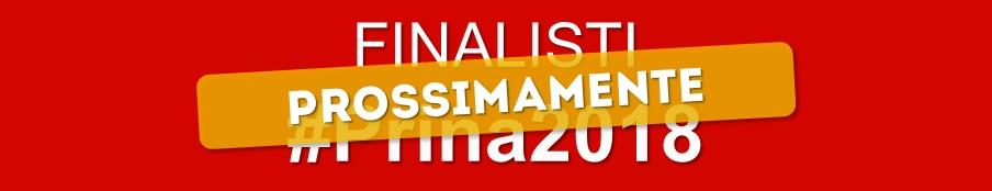 Finalisti al Premio Prina 2018 (coming soon)