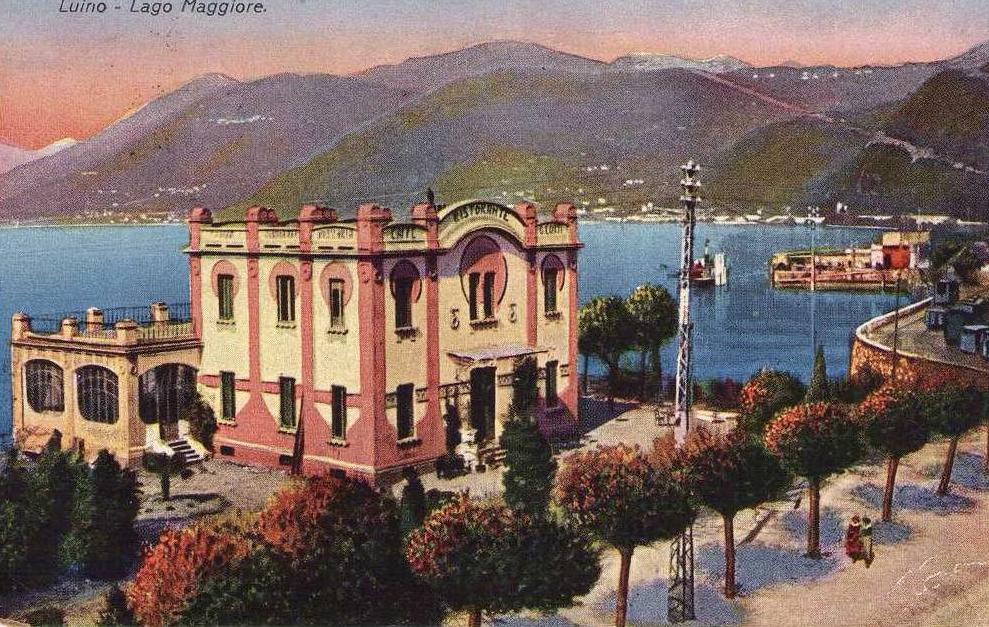 Immagine storica di Palazzo Verbania