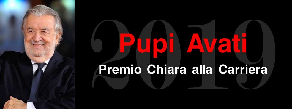Premio Chiara alla Carriera 2019 a PUPI AVATI
