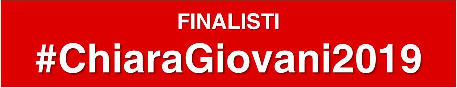 Finalisti Premio Chiara Giovani 2019