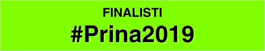 Finalisti Premio Prina 2019