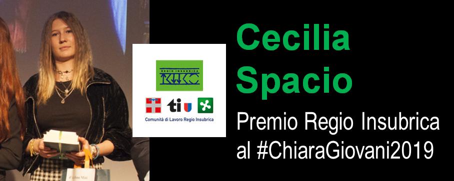 Cecilia Spacio Premio Regio Insubrica